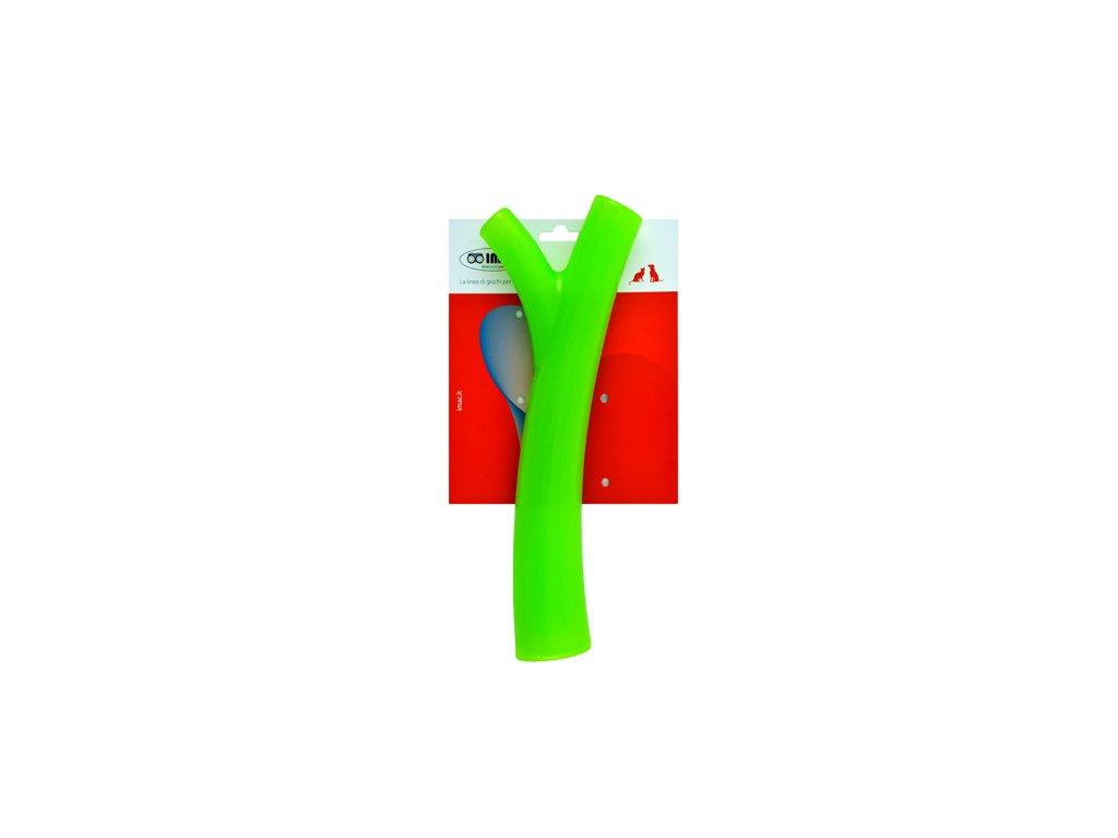 imac interaktivni kost pro psy L zelena
