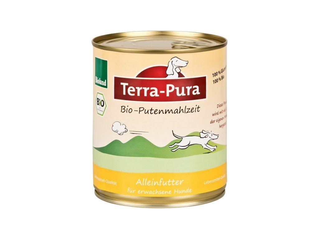 terra pura bio putenmahlzeit kruti konzerva pro psy 800g