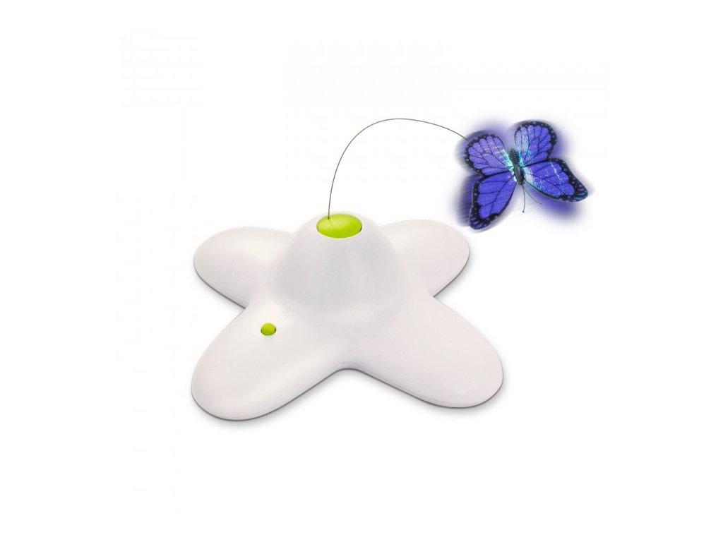 all for paws motylek interaktivni hracka pro kocku 2