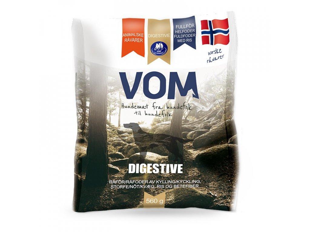 VOM Digestive 560g mrazene maso pro psy BARF krmivo