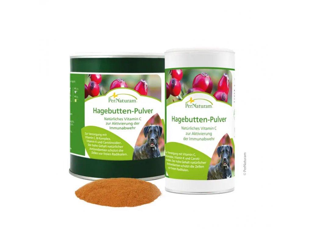 PerNaturam šípkový prášek - vitamín C
