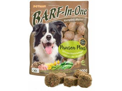 BARF in One Pansen maso pro psy drstky baleni