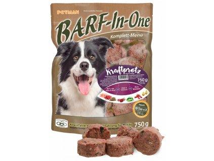 BARF in One Kraftprotz maso pro psy kraftprotz kompletni krmivo