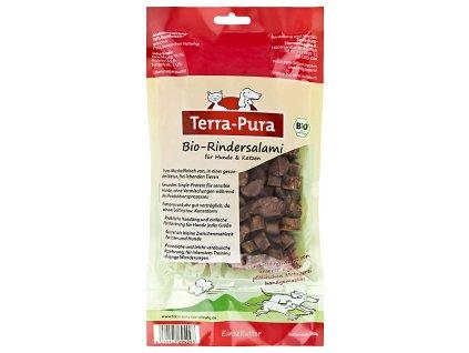 Terra Pura hovězí salámek