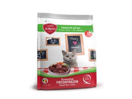 c0013 jolipet BARF krmivo pro kočky ADULT hovězí