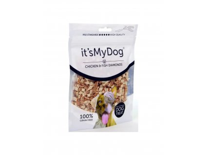 its my dog chicken and fish diamonds pamlsek pro psy 85 g