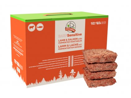 MUSH BARF Sensitive kompletní BARF mražené krmivo s fermentovanou zeleninou 10 kg