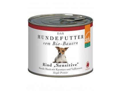 DEFU 577212 bio rind 200 g konzerva pro psy