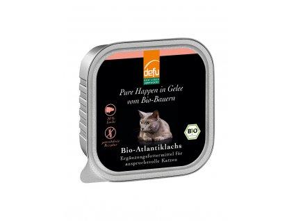 DEFU 578119 happen in gelee bio atlantiklachs 100 g kousky v želé pro kočky