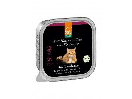 DEFU 578121 happen in gelee bio landente 100 g kousky v želé pro kočky