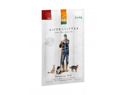 DEFU 572752 kaustange bio rind 18 g žvýkací tyčinky pro kočky