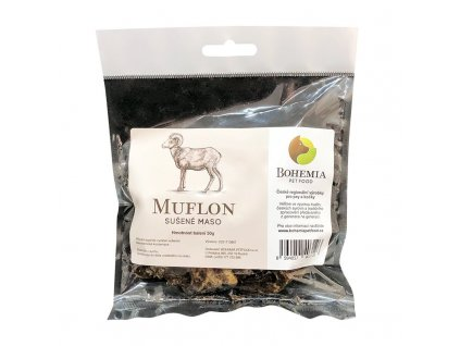 bohemia muflon 50 g pamlsek pro psy