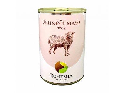 bohemia jehneci maso ve vlastni stave 400 g konzerva pro psy