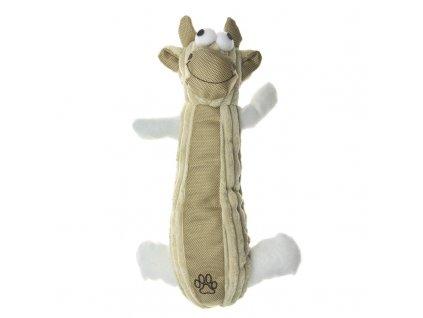 IMAC piskaci hracka pro psy aportovaci kravicka