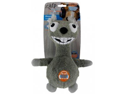 afp ultrazvukova hracka pro psy stredni bezova