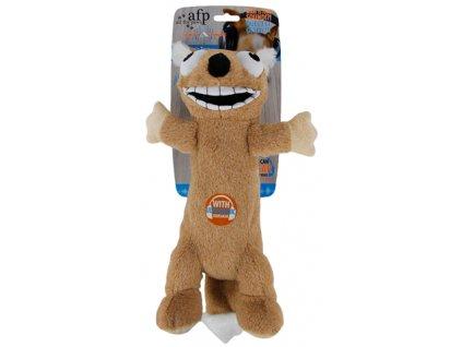 afp ultrazvukova hracka pro psy velka bezova