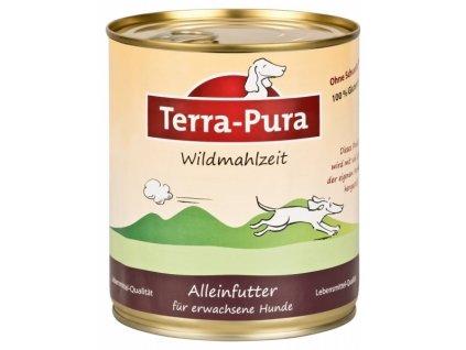 terra pura wildmahlzeit zverinova konzerva pro psy 800g