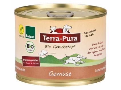 terra pura bio gemusetopf zeleninova konzerva pro psy