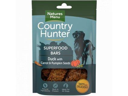 naturesmenu country hunter pamlsek pro psy tycinka kachni