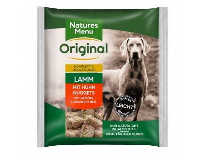 natures menu raw barf 60 pct jehneci nugety mrazene maso krmivo pro psy 1 kg