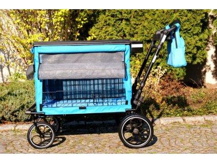 prepravni vystavni vozik klec na psy petmobil m