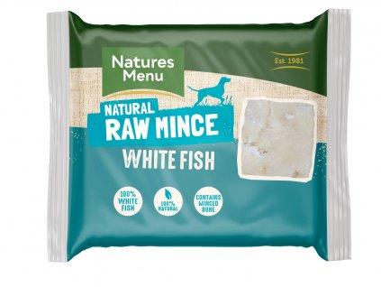 WFI Natures Menu Home Prepare BARF mleté bílé ryby přední strana
