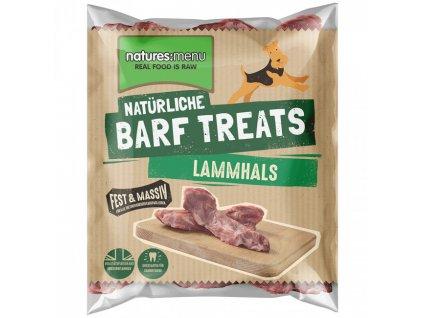natures menu lammhals barf pamlsek pro psy
