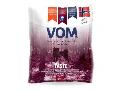 VOM Taste hovezi drstky 560g mrazene maso pro psy BARF krmivo