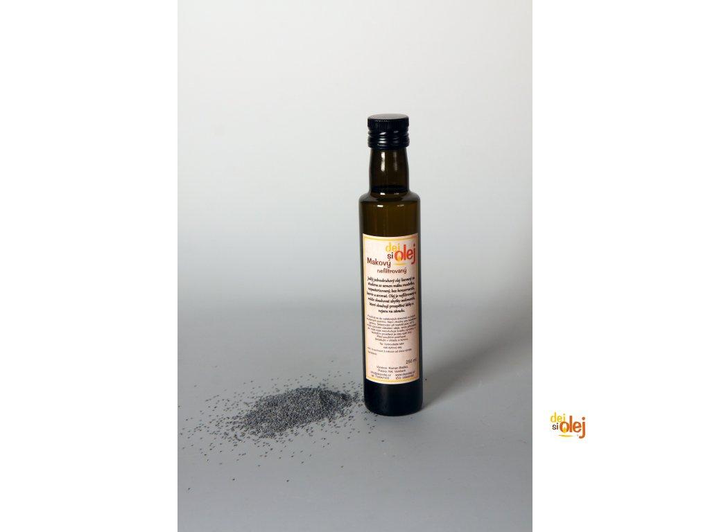 Makový olej (250ml) www.dejsiolej.cz