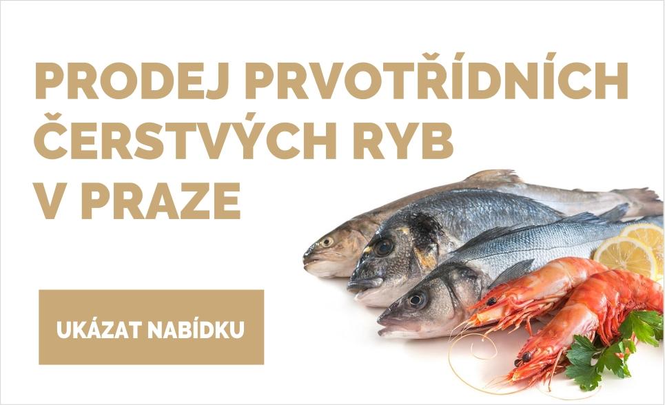 Prodej čerstvých ryb Praha