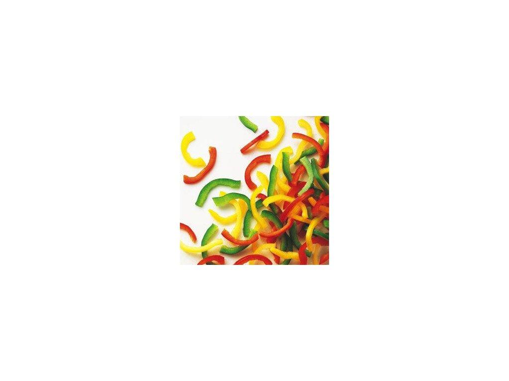 Papriky barevné na nudličky mražené 2500g Ardo