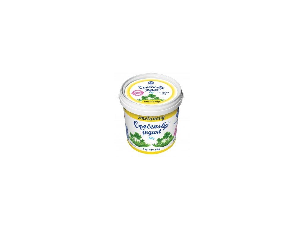 Smetanovy Opocensky jogurt bily1 kg