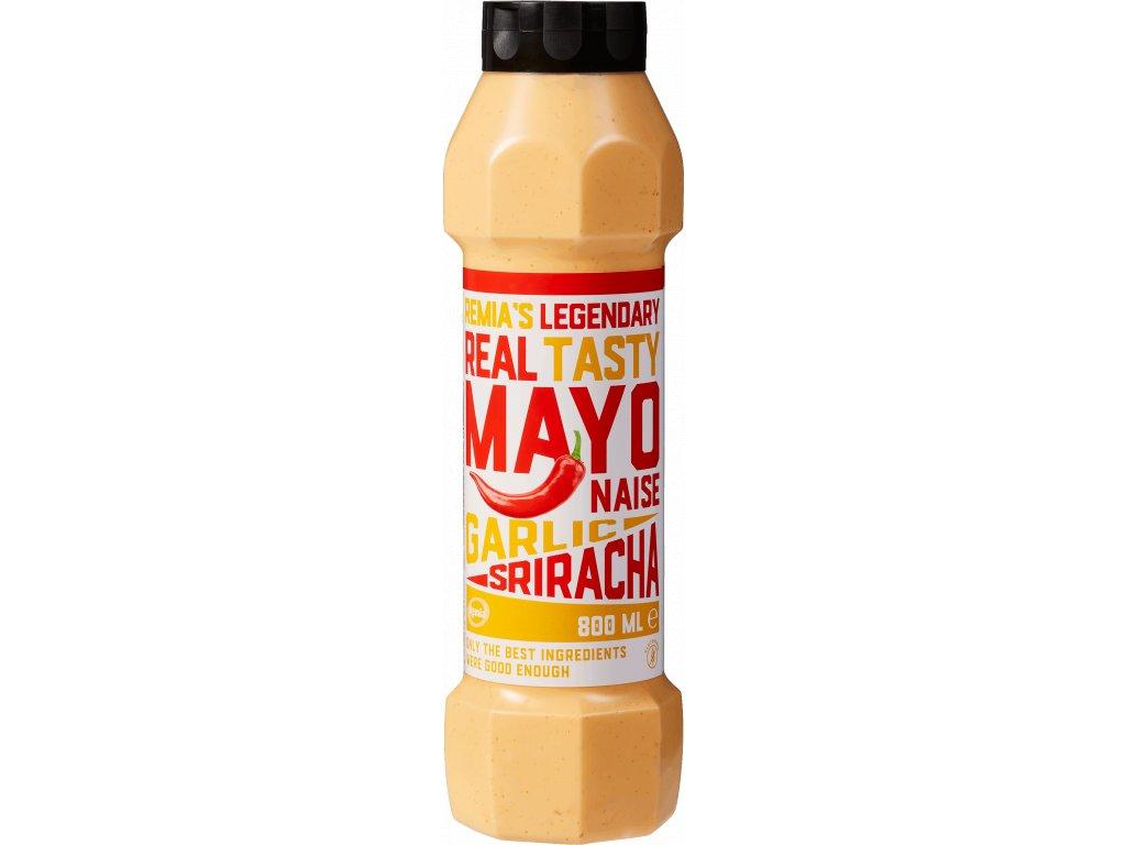 Majonéza Garlic Sriracha 800 ml