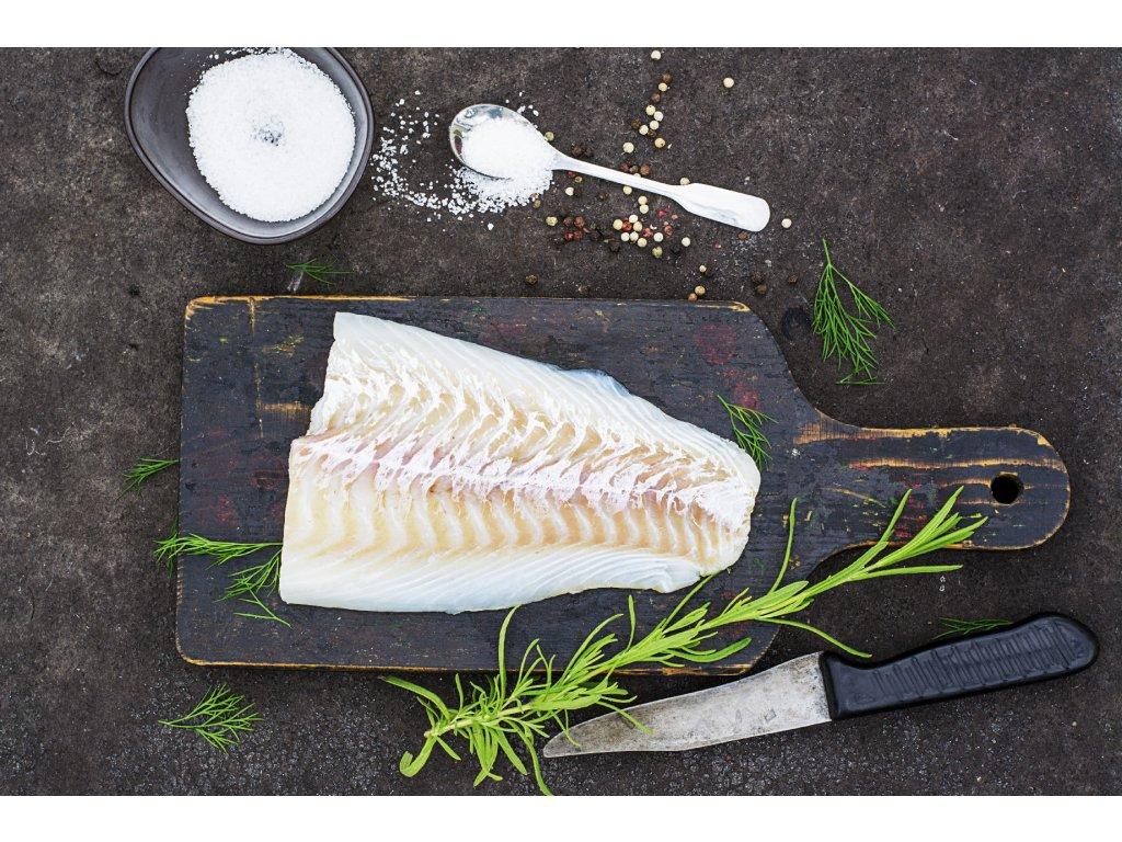 Halibut grónský čerstvý, chlazený - filet
