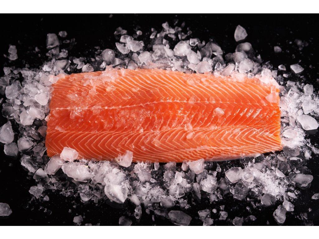 Losos sashimi deep skin, čerstvý - chlazený na ledu