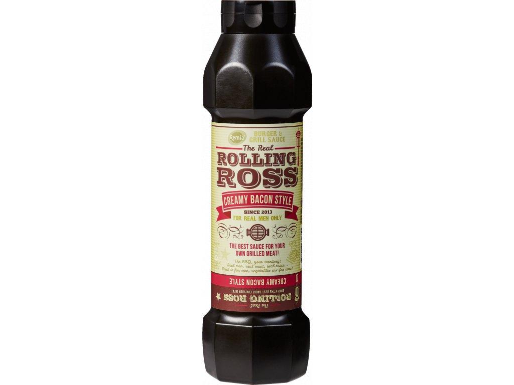 ROLLING ROSS - stylová krémová omáčka se slaninou 800 ml Remia