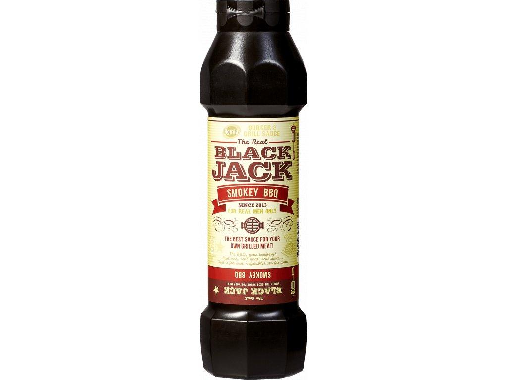BLACK JACK - uzená BBQ omáčka 800 ml Remia