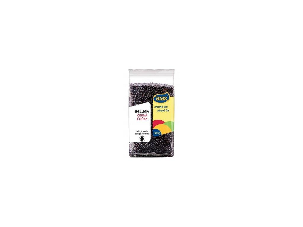 Čočka černá Beluga 300g Arax