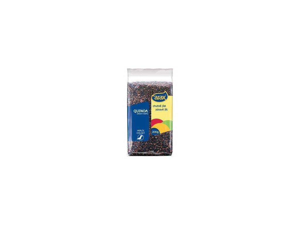 Quinoa černá, semínka 200g Arax