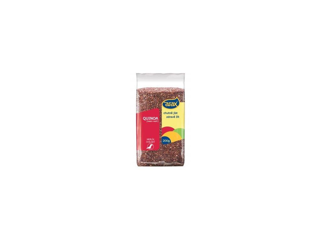 Quinoa červená, semínka 200g Arax