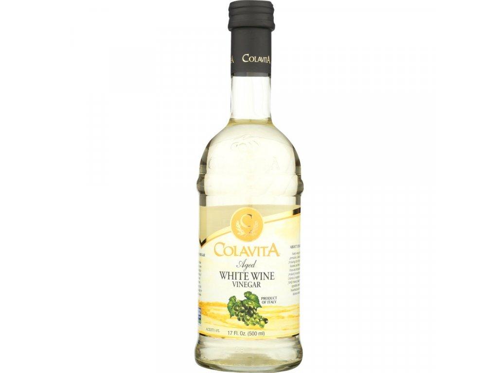 Vinný ocet bílý Colavita IT - 500ml SKLO