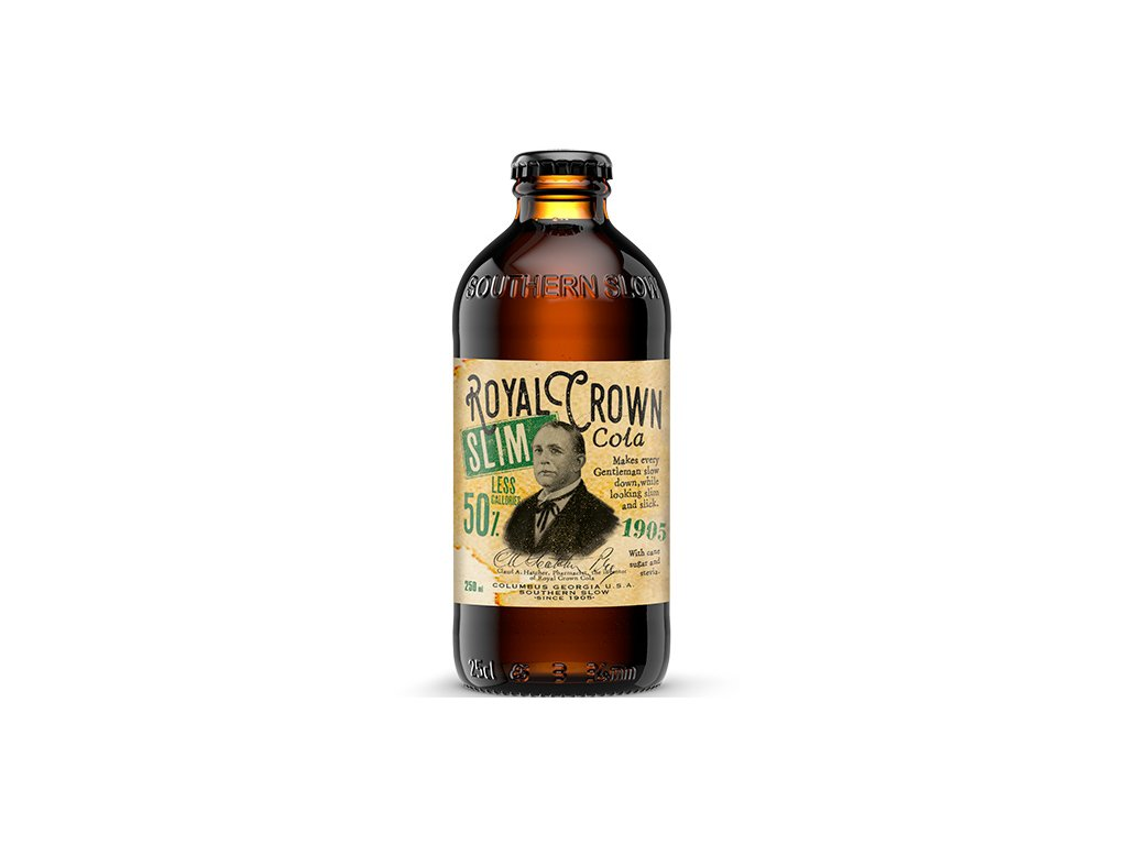Royal Crown Cola Slim 0,25 SKLO - 24ks