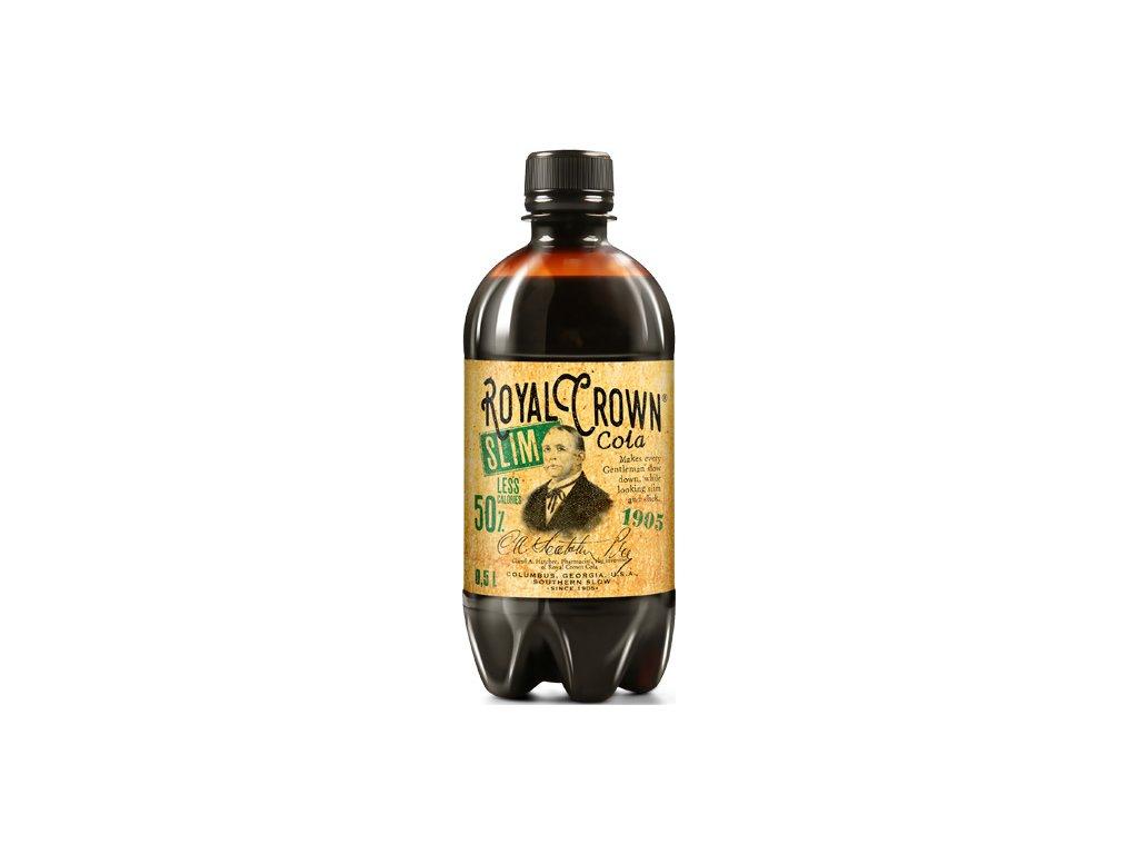 Royal Crown Cola Slim 0,5 PET - 6 ks