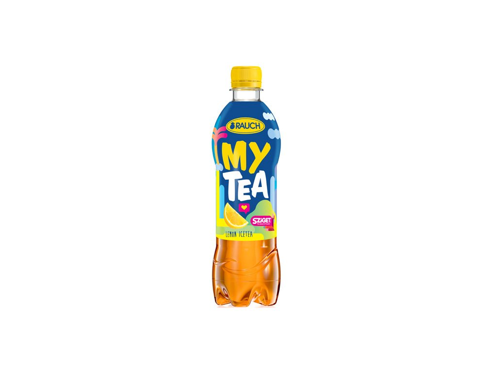 Rauch My Tea Ledový čaj citron 12x500ml PET