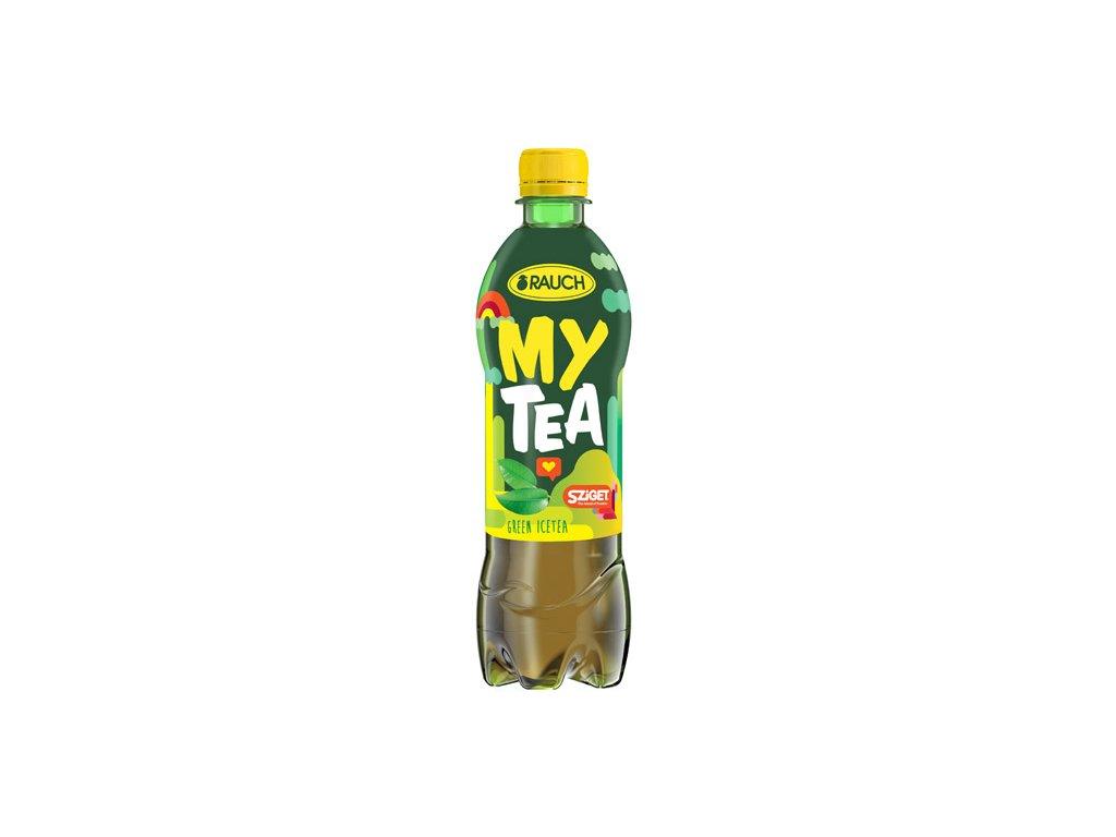 Rauch My Tea Ledový čaj GREEN 12x500ml PET