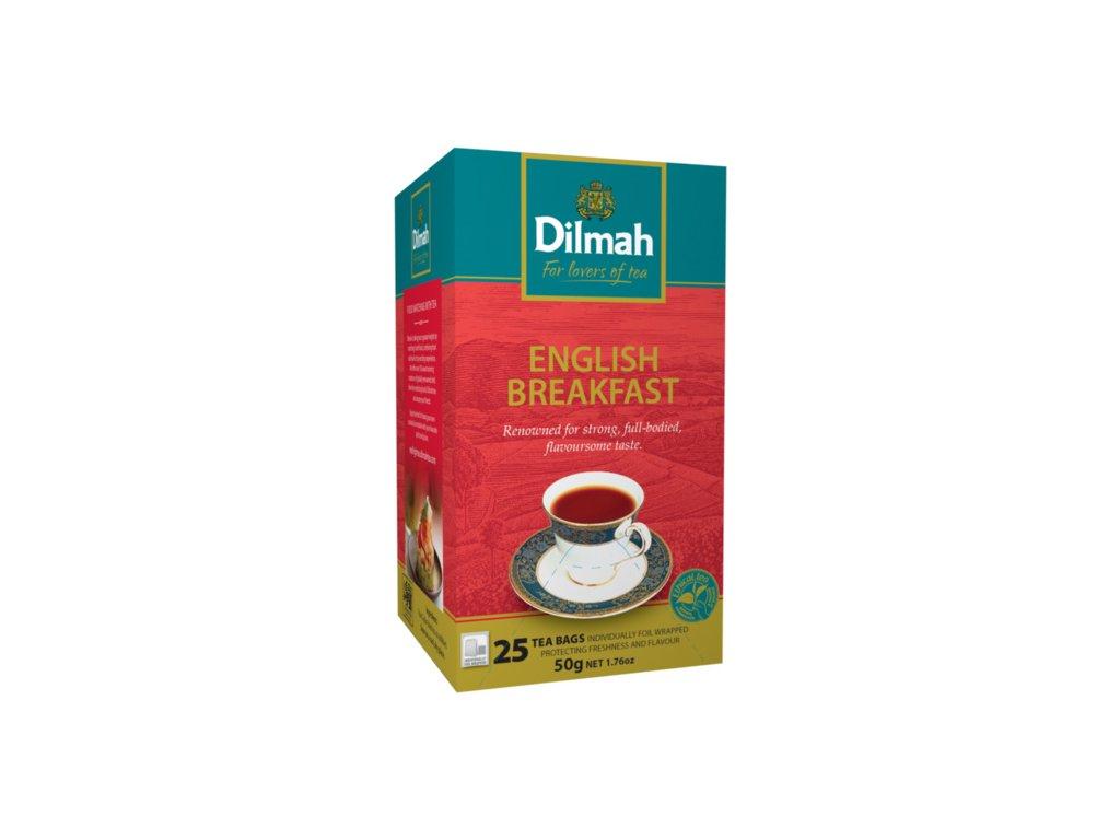 Čaj English breakfast - 25 sáčků Gourmet Dilmah