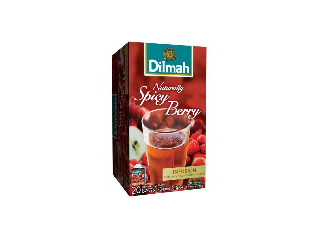 Čaj naturally spicy berry - 20 sáčků Dilmah
