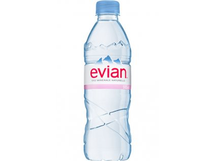 Voda 0,5 PET - 24 ks Evian