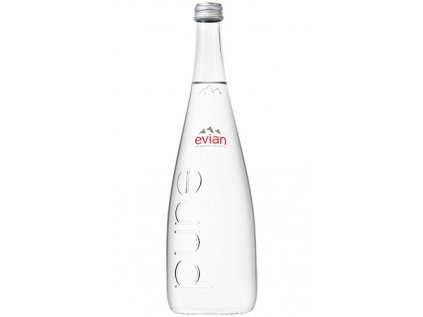 Voda 0,75 SKLO - 12 ks Evian