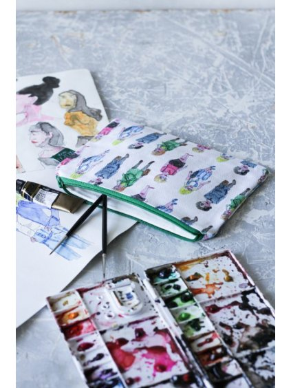 Taštička Colour, dyzajn Catwalk, velikost L